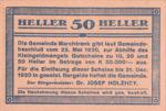 Austria, 50 Heller, FS 581c