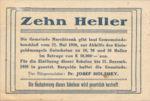 Austria, 10 Heller, FS 581d