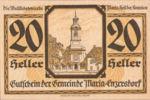 Austria, 20 Heller, FS 582a