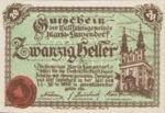 Austria, 20 Heller, FS 586a