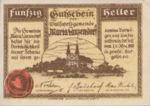Austria, 50 Heller, FS 586a
