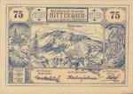 Austria, 75 Heller, FS 618a