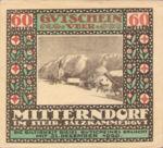 Austria, 60 Heller, FS 621IIcx