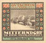 Austria, 60 Heller, FS 621IId1