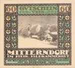Austria, 60 Heller, FS 621IIe1