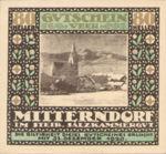 Austria, 80 Heller, FS 621IIe1