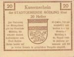 Austria, 20 Heller, FS 623.07