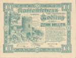 Austria, 10 Heller, FS 623.14