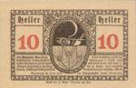 Austria, 10 Heller, FS 628a