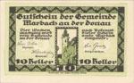 Austria, 10 Heller, FS 579II
