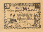 Austria, 50 Heller, FS 588