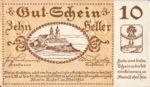 Austria, 10 Heller, FS 589a