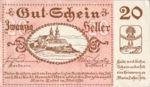 Austria, 20 Heller, FS 589a