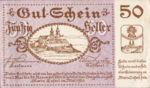 Austria, 50 Heller, FS 589a