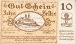 Austria, 10 Heller, FS 589c