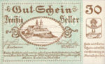 Austria, 30 Heller, FS 589c