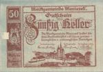 Austria, 50 Heller, FS 590II