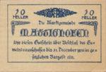Austria, 10 Heller, FS 594a