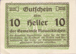 Austria, 10 Heller, FS 598IBc