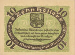 Austria, 10 Heller, FS 598IC