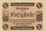 Austria, 50 Heller, FS 598ICaF