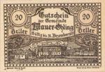 Austria, 20 Heller, FS 599c