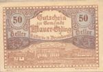 Austria, 50 Heller, FS 599e