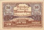 Austria, 50 Heller, FS 599f
