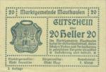 Austria, 20 Heller, FS 601IIa
