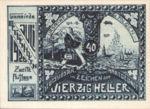 Austria, 40 Heller, FS 603IIa