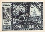 Austria, 80 Heller, FS 603IIa