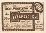 Austria, 40 Heller, FS 603IIb