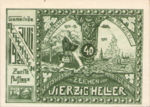 Austria, 40 Heller, FS 603IIc