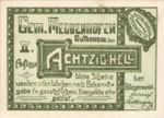 Austria, 80 Heller, FS 603IIc