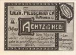 Austria, 80 Heller, FS 603IId