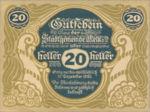Austria, 20 Heller, FS 605II
