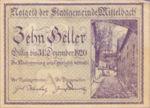 Austria, 10 Heller, FS 614a