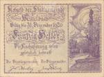 Austria, 50 Heller, FS 614a