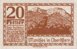 Austria, 20 Heller, FS 626b1