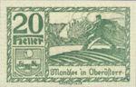 Austria, 20 Heller, FS 626d1