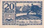 Austria, 20 Heller, FS 626h1