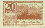 Austria, 20 Heller, FS 626j1