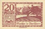 Austria, 20 Heller, FS 626m1