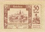 Austria, 50 Heller, FS 600IBa