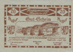 Austria, 20 Heller, FS 600IIa2