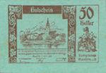 Austria, 50 Heller, FS 600IIc1