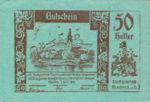 Austria, 50 Heller, FS 600IIc2
