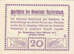 Austria, 20 Heller, FS 643Ia