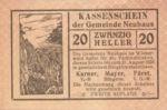 Austria, 20 Heller, FS 646c