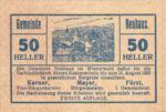 Austria, 50 Heller, FS 646c